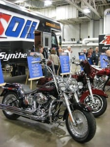 Motorcycles at AMSOIL U 2011